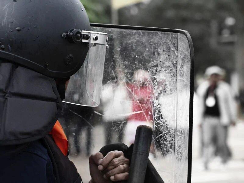 Im Falle einer Pandemie-betonte, Amerika, Proteste Beurteilung zu psychischen Belastungen